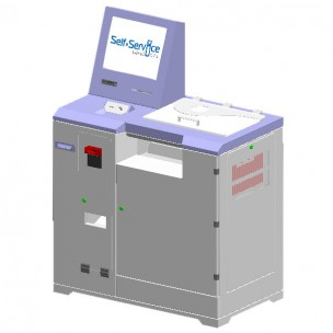 Vending copier, printer, scanner, payment terminal SC-K.P2 Universal