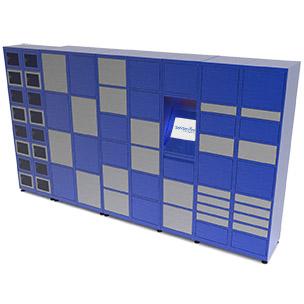 Automatic lockers, locker rooms, bank cells