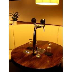 Система розлива пива на столах в барах и ресторанах (пивные счетчики)