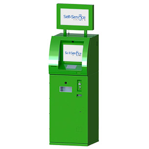 Self-service currency exchange terminal