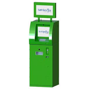 Терминал самообслуживания для обмена валют