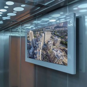 Advertising monitors Digital Signage (for premises, street, in transport)