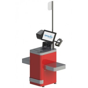 Self-checkout cash desks