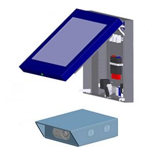 Защитный корпус для ЖК дисплеев и проекторов (уличный, промышленный)